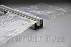 Оцинкованный тепличный профиль с пластиковым зажимом  для пленки, фото 3