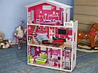 Игровой кукольный домик с лифтом Ecotoys 4118 Malibu (3 этажа) для детей, фото 2