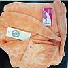 Довгий жіночий халат з поясом у білому кольорі L&L 7110 BRBR , фото 4