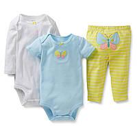 Детский комплект для девочки Carters  9, 12, 18  месяцев