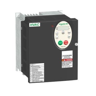 Перетворювач частоти Altivar 212 4 кВт 380 - 500В АС 3Ф ATV212HU40N4