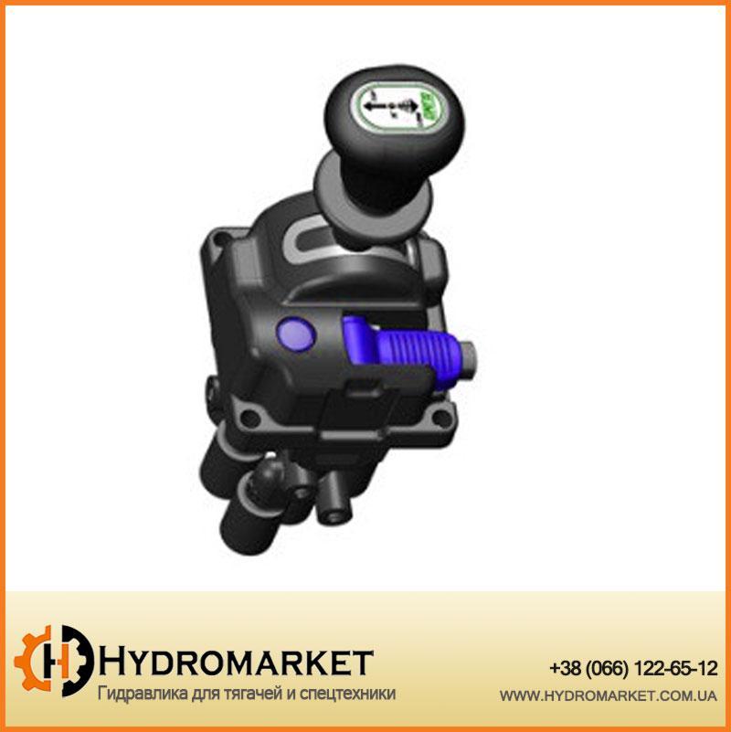 Джойстик пневматического управленияN-FORCE EVO с кнопкой OMFB(D6) (кран подъема кузова)