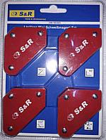 Набор магнитных держателей для сварочных работ S&R 290104005