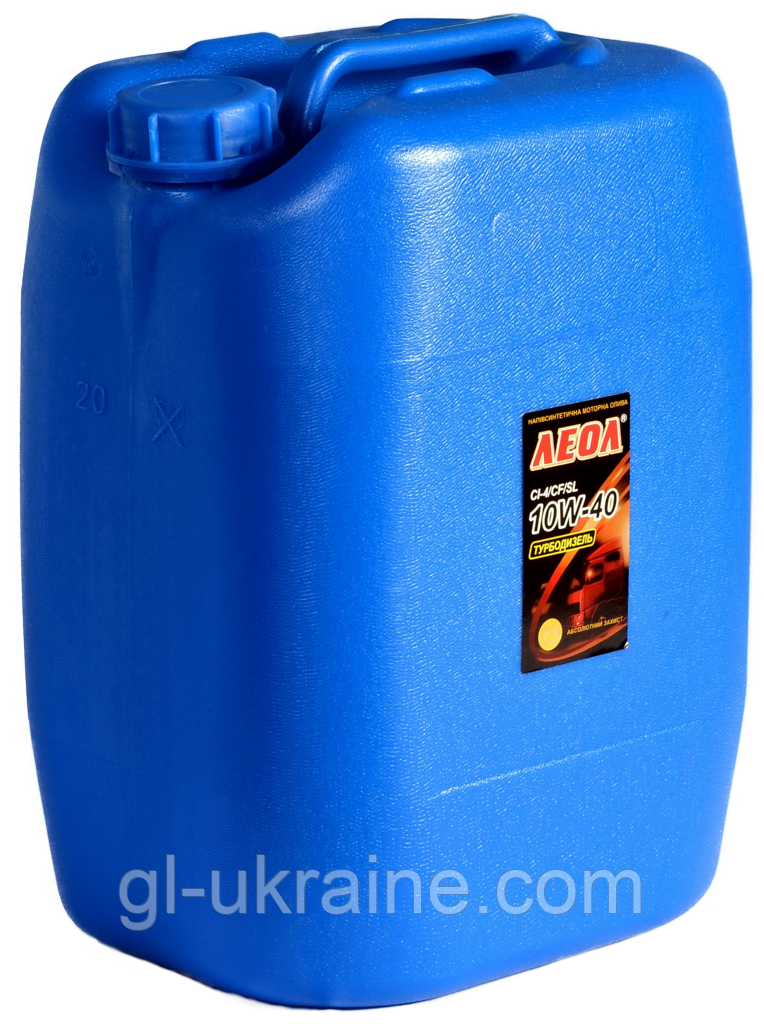 ЛЕОЛ TURBODIESEL 10W-40, Моторное масло bag in box 20 л