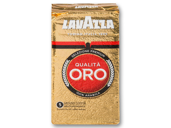 Кофе Lavazza Qualita Oro молотый 100% arabica 250g