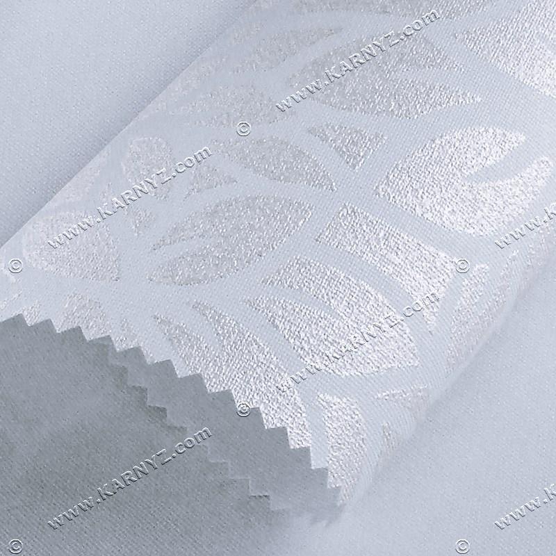 Рулонные шторы Принт Лотос белый