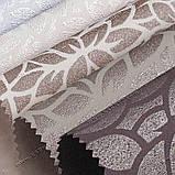 Рулонные шторы Принт Лотос коричневый, фото 5