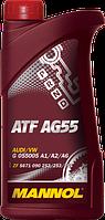 Трансмиссионное масло для 6 ступ. АКПП (ATF AG55 AUTOMATIC SPECIAL) MANNOL 1л