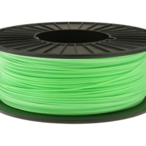 Пластик в котушці PLA 1,75 мм, MonoFilament, 0,5кг, Салатовий