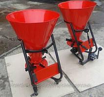 Разбрасыватель удобрений ШИП (РУМ, 100 л, привод под кардан) для минитрактора, трактора