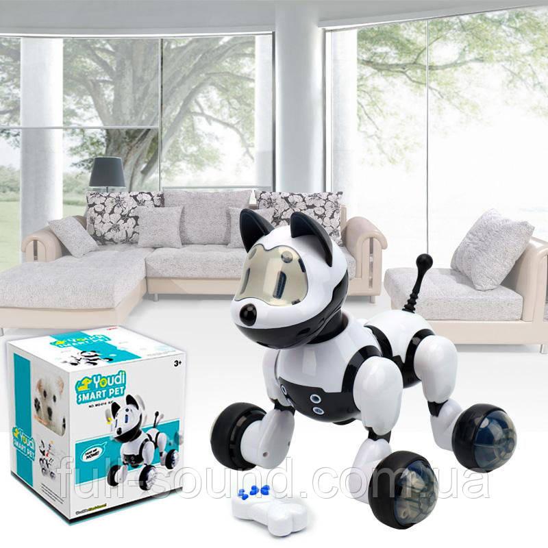 Интерактивный робот собака на радиоуправлении и пультом