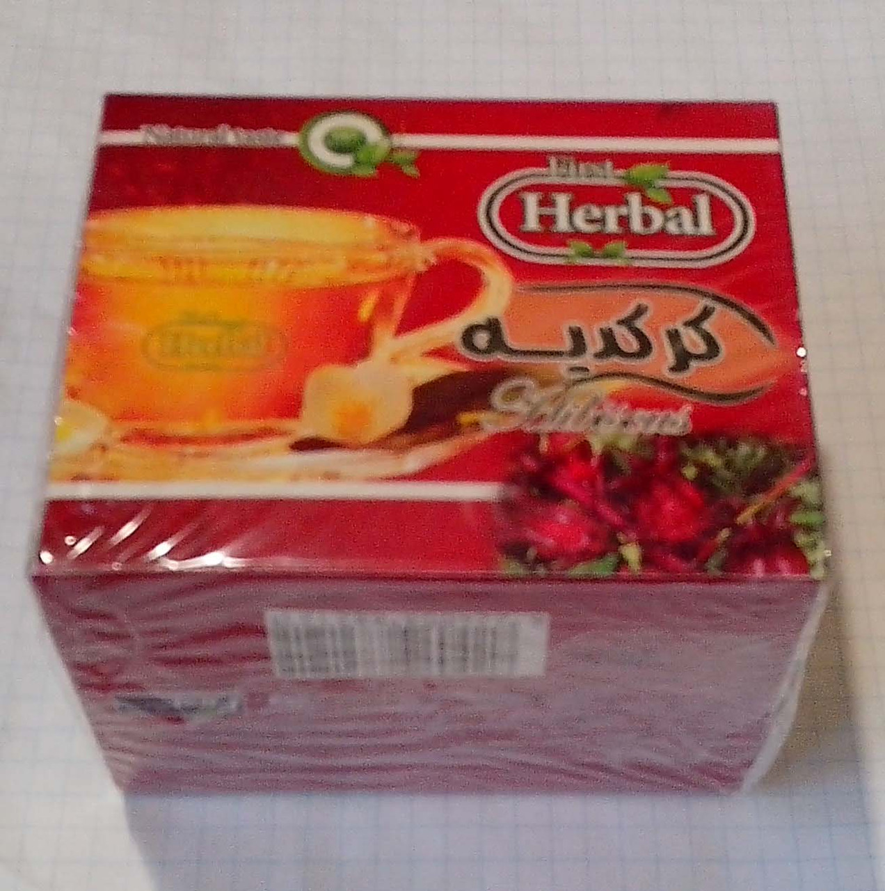 Чай каркаде 12 пакетиків по 2г First Herbal Єгипет