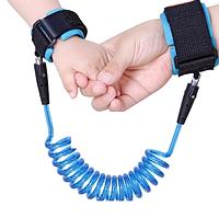 Поводок для ребенка на руку Anti-lost Голубой 1,5 метра