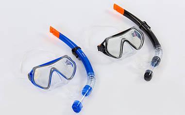 Набір для плавання маска з трубкою M166-SN52-SIL