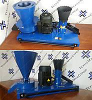Сенорезка + зернодробилка + гранулятор кормовых гранул ГКМ-100 (380 В, 1,5 кВт) 40/250/50 кг/час