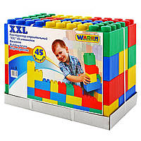 Конструктор строительный XXL, 45 элементов, «Wader» (37510), фото 1