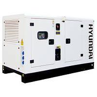 Электростанция дизельная Hyundai DHY-45KSE + ATS