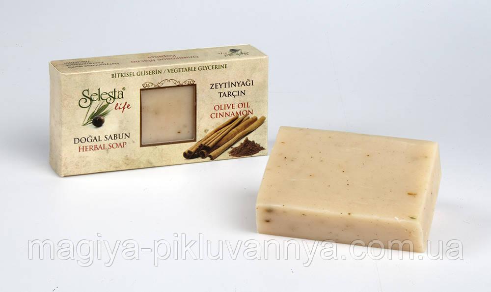 SELESTAlife Глицериновое мыло Корица (Растительный глицерин, оливковое масло и корица.) 100 г