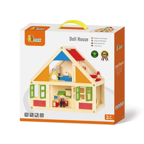 Игрушка Viga Toys Кукольный домик (20181002V-081), фото 1