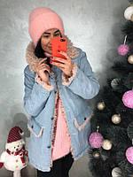 Женская теплая куртка с капюшоном (2 цвета), фото 1