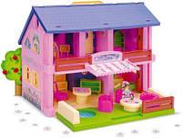 Двухэтажный кукольный домик Wader 25400 (tsi_18215)