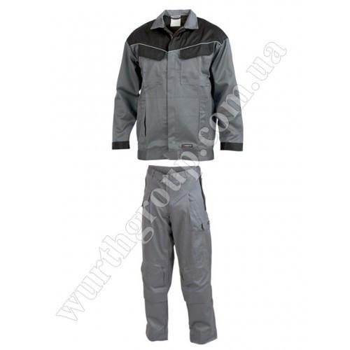 Комплект Сварщика куртка и брюки серый Wurth