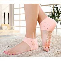 Силиконовые вкладыши в обувь для защиты стоп Heel anti-crack sets