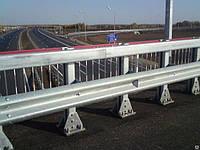 Мостовое ограждение одностороннее 11МО-2
