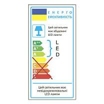 Настольний LED світильник Feron DE1725 30LED 9W 6400K Чорна ( часто беруть для манікюру ), фото 2