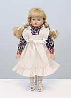 Старая коллекционная фарфоровая кукла, Германия, фарфор, 45 см , фото 1