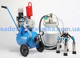 Доильный аппарат масляный Буренка-1 Нержавейка 3000 (стаканы с нержавеющей стали)