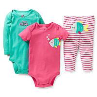 Детский комплект для девочки Carters 18 месяцев
