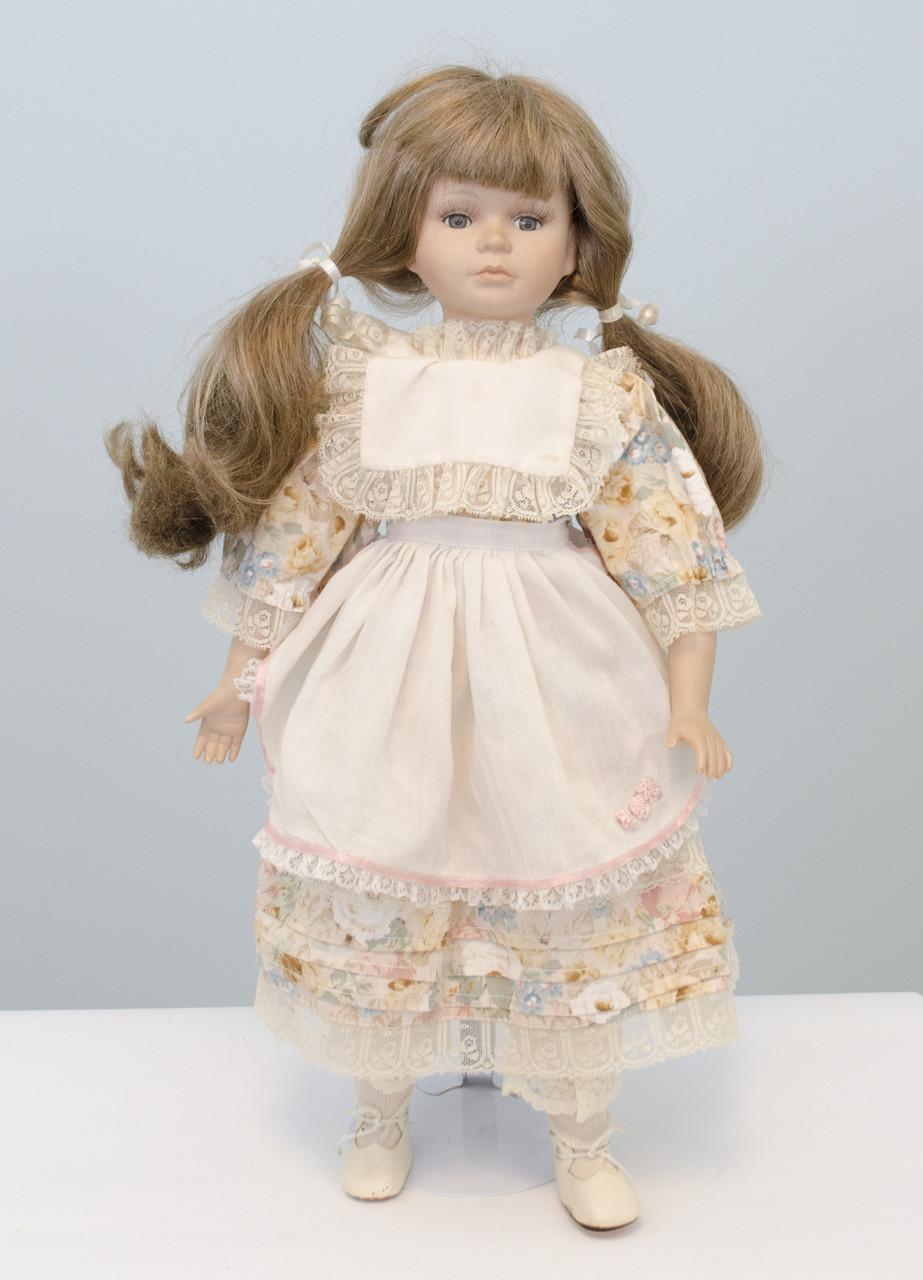 Старая коллекционная фарфоровая кукла, Германия, фарфор, 50 см