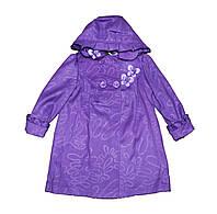 Пальто детское кашимировое для девочки .Пион
