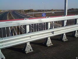 Мостове огорожу однобічний 11МО-2