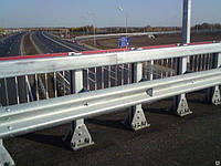 Мостовое ограждение односторонее 11МО-4