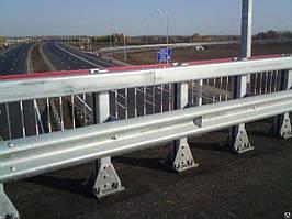 Мостове огорожу однобічний 11МО-4
