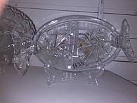 Конфетница конфета стеклянная 1133