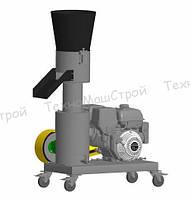 Гранулятор топливных пеллет МГК-200 (бензиновый дв. 9 л. с.) матрица 200 мм, 200 кг/час, фото 1