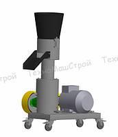 Гранулятор кормовых гранул МГК-200 (220 В, 7,5 кВт) матрица 200 мм, 200 кг/час