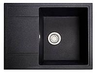 Кухонная мойка Оптима черный из искусственного камня, фото 1