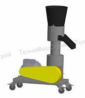 Гранулятор топливных пеллет МГК-260 (без двигателя) матрица 260 мм, 300 кг/час