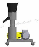 Гранулятор кормовых гранул МГК-260 (380 В,11 кВт) матрица 260 мм, 300 кг/час