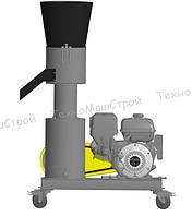 Гранулятор кормовых гранул МГК-260 (бензиновй дв. 13 л. с.) матрица 260 мм, 300 кг/час