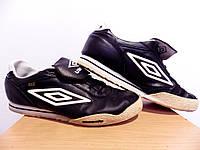 Мужские кожаные кроссовки Umbro 100% Оригинал р-р 44,5 (28,5 см)  (б/у,сток) original умбро, фото 1