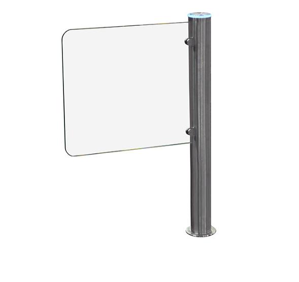 Турникет-калитка Gate-GS Slim, шлифованная нержавеющая сталь