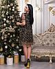 Платье женское Звездочки Ткань масло сетка Размеры 48-50,52-54, фото 3
