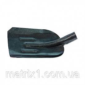 Лопата совковая, с ребром жесткости, рельсовая сталь, без черенка, Россия. СИБРТЕХ