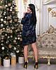 Платье женское Ткань ангора Размеры 46-48,48-50,50-52, фото 2