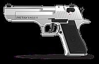 Пистолет стартовый Retay Arms Eagle-X (chrome матовый), фото 1